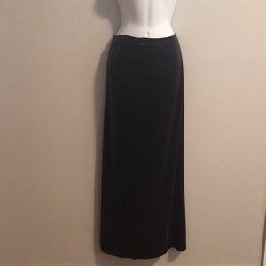 Jones of New York velvet maxi skirt